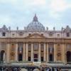 Rzym. Bazylika Św. Piotra<br />. Dzień po kanonizacji św<br />. Jana Pawła II i św. Jan<br />a XXIII.