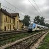 EN76-003 #Koleje Śląskie :: 1 Sierpień 2014r. | Nędza<br /> | EN76-003 jako osobowy <br />z Raciborza do Katowic oc<br />zekuje na skomunikowani