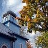 Kopuła cerkwi dubickiej -<br /> jesiennie